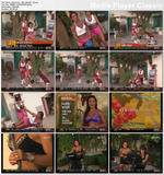 "KIANA TOM -- ""Flex Appeal"" (1988) - *cleavage, tight gray shorts*"