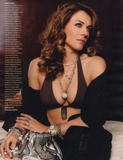 Elizabeth Hurley show off her body in lingerie photoshoot for Madame Figaro magazine -