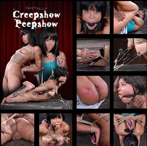 HARDTIED: May 27, 2015: Creepshow Peepshow | Jessica Creepshow | Jack Hammer